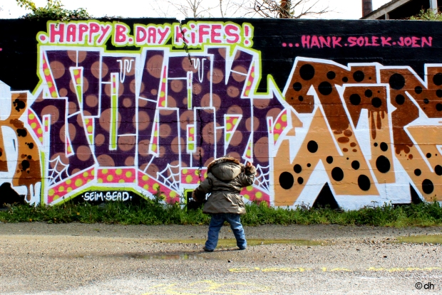 canal saint martin rennes graffitis Joen Hank Visitors