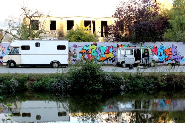 canal saint martin rennes graffitis punk